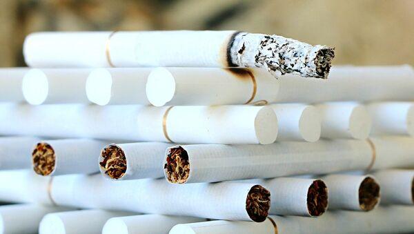 Сигареты, фото из архива - Sputnik Азербайджан