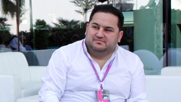 Formula 1 Avropa Qran-Prisinin elçisi Murad Dadaşov - Sputnik Azərbaycan