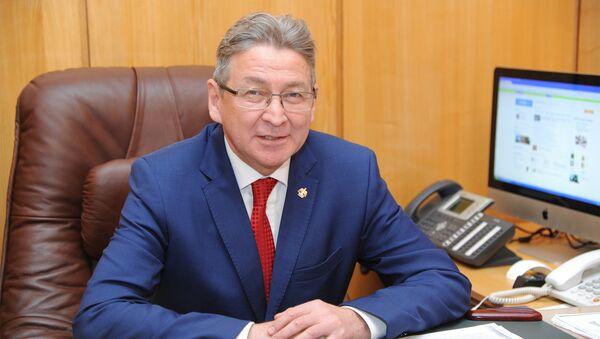 Ufa Dövlət Neft Texniki Universitetinin rektoru Ramil Baxtizin - Sputnik Azərbaycan