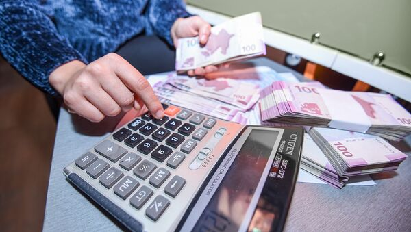 Финансовая отчетность, фото из архива - Sputnik Азербайджан
