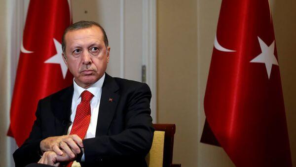 Президент Турции Реджеп Тайип Эрдоган, фото из архива - Sputnik Азербайджан