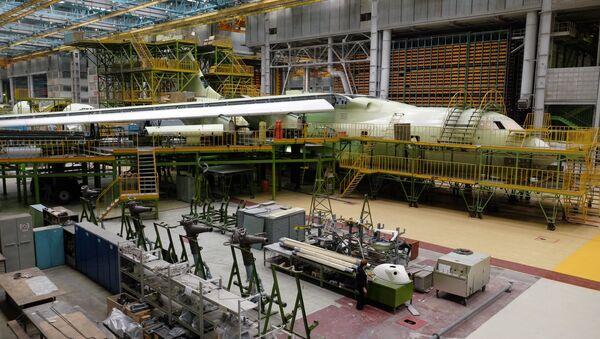 Цех промышленного предприятия, фото из архива - Sputnik Азербайджан