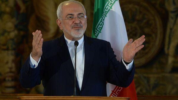Министр иностранных дел ИРИ Мохаммад Джавад Зариф - Sputnik Азербайджан