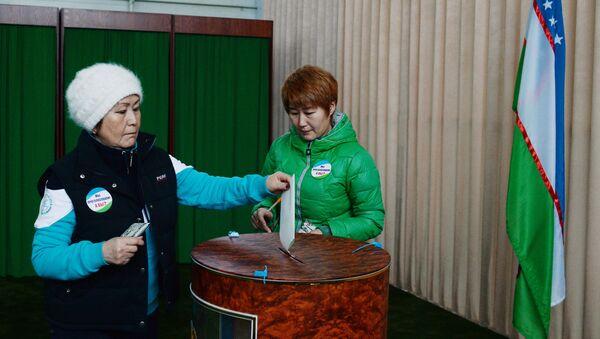 Выборы президента Узбекистана - Sputnik Азербайджан