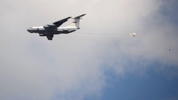 Российский военно-транспортный самолёт Ил-76, фото из архива - Sputnik Azərbaycan
