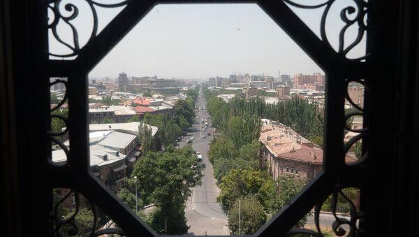 Вид на Ереван, фото из архива - Sputnik Азербайджан