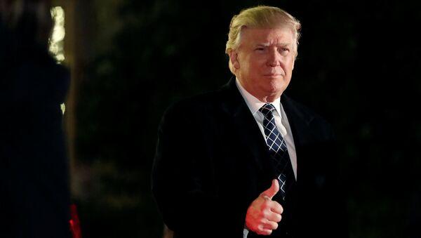 ABŞ-ın seçilmiş prezidenti Donald Tramp - Sputnik Azərbaycan