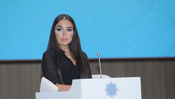 Вице-президент Фонда Гейдара Алиева Лейла Алиева, фото из архива - Sputnik Азербайджан