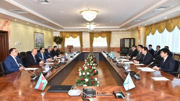 Встреча по взаимодействию по дальнейшему развитию Транскаспийского международного транспортного коридора (ТМТМ) - Sputnik Азербайджан