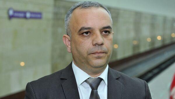Глава пресс-службы ЗАО Бакинский метрополитен Насими Пашаев, фото из архива - Sputnik Азербайджан