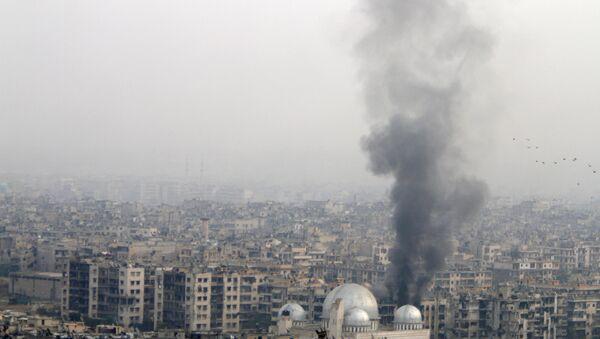 Разрушения в Алеппо, Сирия - Sputnik Азербайджан