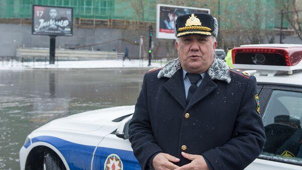 Полковник полиции Вагиф Асадов - Sputnik Азербайджан