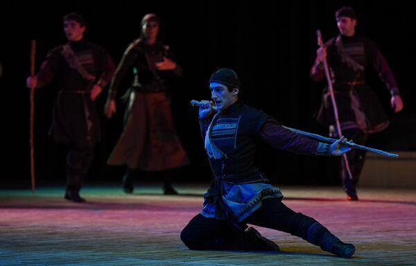 Концерт Аджарского академического ансамбля песни и танца в Баку - Sputnik Азербайджан