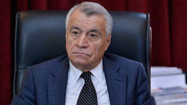Натиг Алиев, министр энергетики Азербайджана, фото из архива - Sputnik Азербайджан