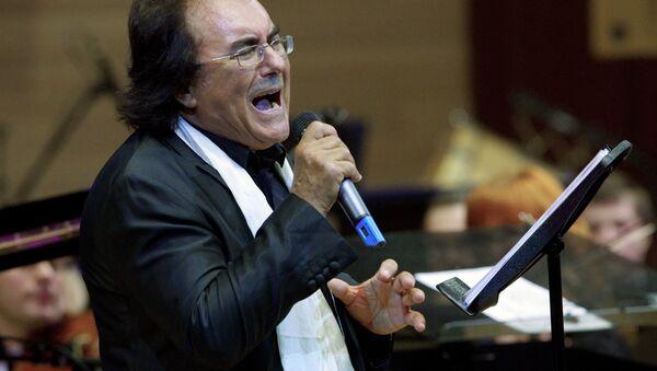 Концерт итальянского певца Аль Бано в Москве - Sputnik Azərbaycan