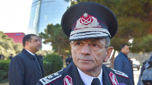 Глава Службы государственной безопасности АР, генерал-лейтенант Мадат Гулиев  - Sputnik Azərbaycan