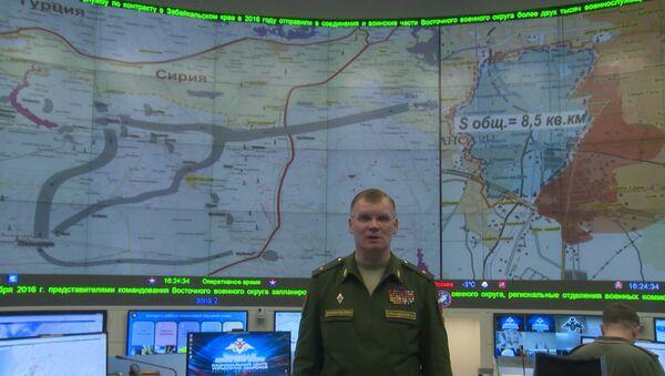 Конашенков рассказал об атаках боевиков ИГ на сирийскую Пальмиру - Sputnik Азербайджан