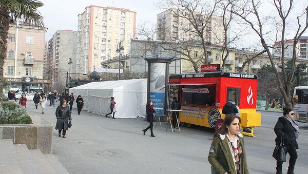 Ярмарочная палатка в Баку - Sputnik Азербайджан