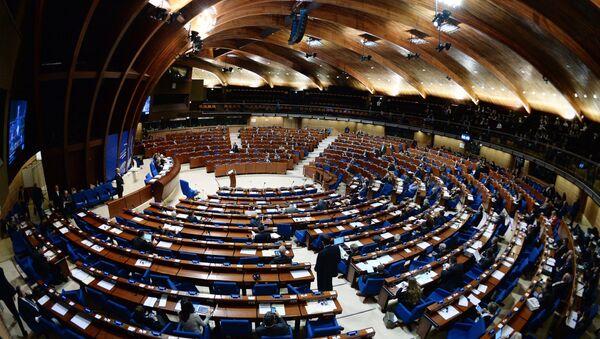 Пленарное заседание зимней сессии Парламентской ассамблеи Совета Европы - Sputnik Азербайджан