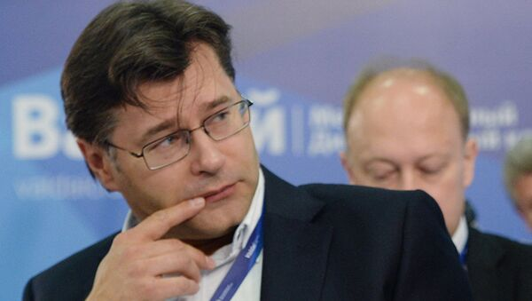 Алексей Мухин, фото из архива - Sputnik Азербайджан