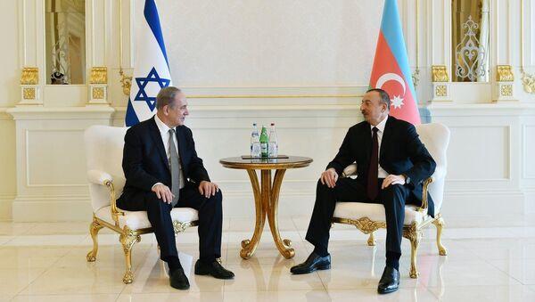 Cостоялась встреча Президента Азербайджанской Республики Ильхама Алиева с премьер-министром Государства Израиль Биньямином Нетаньяху - Sputnik Азербайджан