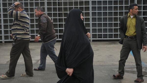 Жители Тегерана, фото из архива - Sputnik Азербайджан