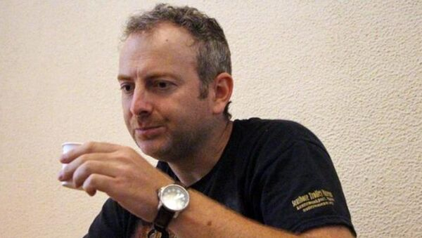 Российско-израильский блогер Александр Лапшин - Sputnik Азербайджан
