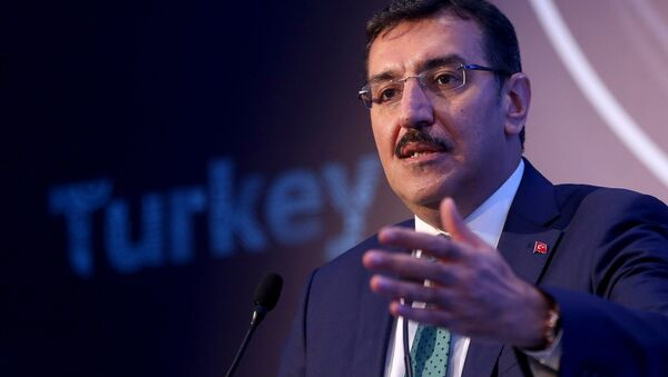 Министр таможни и торговли Турецкой Республики Бюлент Тюфенкчи, фото из архива - Sputnik Азербайджан