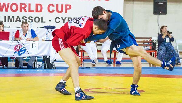 Чемпионат мира по самбо среди кадетов в Лимасоле, фото из архива - Sputnik Азербайджан