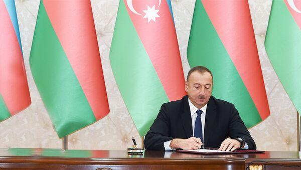 İlham Əliyev, Azərbaycan Respublikasının Prezidenti - Sputnik Azərbaycan