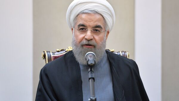 Президент Исламской Республики Иран Хасан Роухани, фото из архива - Sputnik Азербайджан