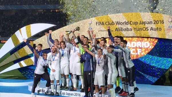 Мадридский Реал назван лучшим участником клубного чемпионата мира в Японии - Sputnik Азербайджан