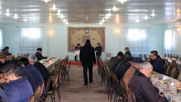 Поминальная церемония по Ильхаму Гафарову - Sputnik Азербайджан
