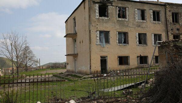 Населенный пункт Талиш в зоне карабахского конфликта - Sputnik Азербайджан