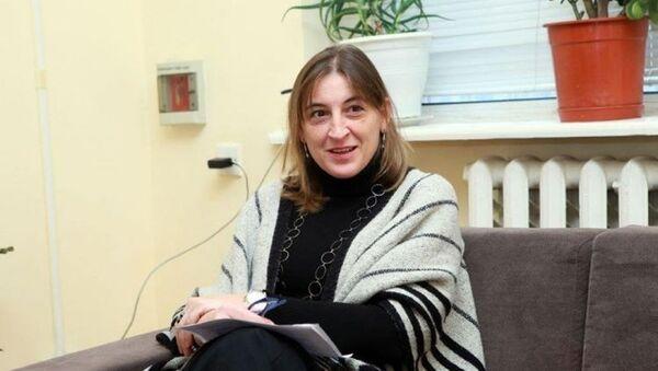 Глава представительства Международного комитета Красного креста в Азербайджане Елена Айморе Сессера - Sputnik Азербайджан