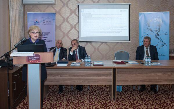 Состоялось подписание соглашения о придании Фонду Знание статуса члена партнерской сети Институт Пушкина - Sputnik Азербайджан