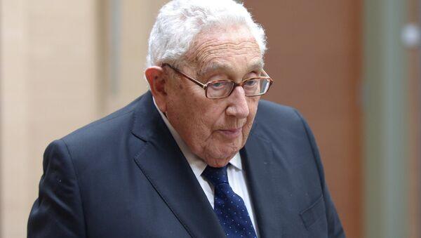 ABŞ-ın keçmiş dövlət katibi Henri Kissincer - Sputnik Azərbaycan