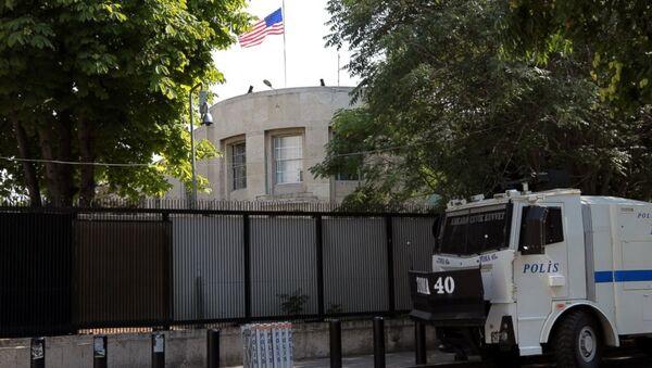 Посольство США в Анкаре, фото из архива - Sputnik Азербайджан