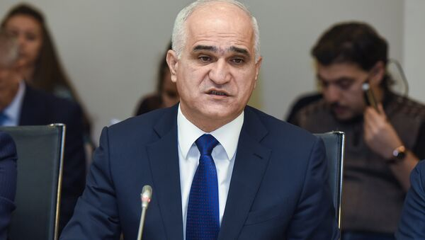 Министр экономики Шахин Мустафаев - Sputnik Азербайджан
