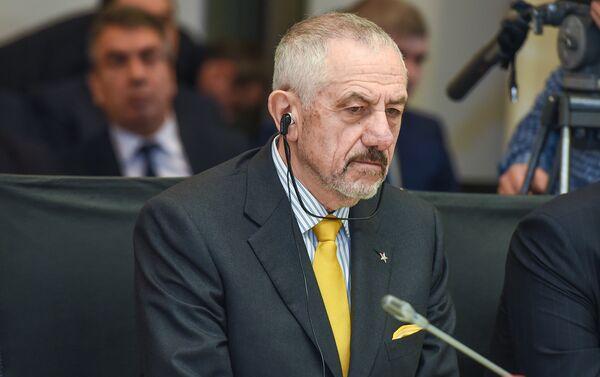 Главный исполнительный директор компании Danieli Джанпьетро Бенедетти - Sputnik Азербайджан
