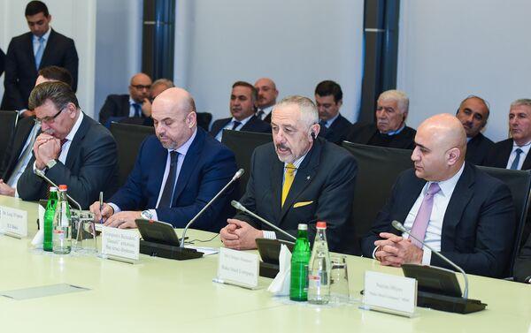 Церемония подписания соглашения по строительству современного металлургического комплекса - Sputnik Азербайджан