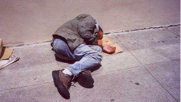 Бездомный, фото из архива - Sputnik Азербайджан