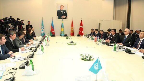 В Баку прошло VI заседание министров экономики Совета сотрудничества тюркоязычных государств - Sputnik Азербайджан