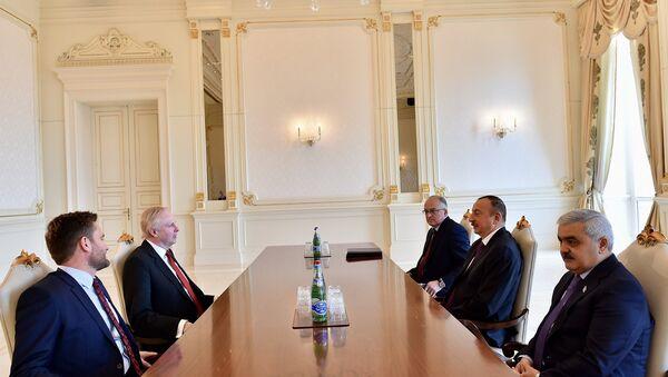 Ильхам Алиев принял президента компании ВР - Sputnik Азербайджан