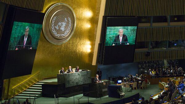 Заседание Генеральной ассамблеи ООН, фото из архива - Sputnik Азербайджан