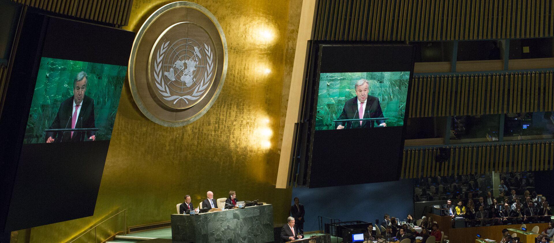 Заседание Генеральной ассамблеи ООН, фото из архива - Sputnik Азербайджан, 1920, 04.03.2021