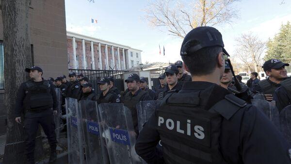 Турецкая полиция, фото из архива - Sputnik Азербайджан