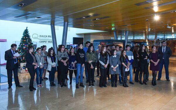 Участники церемонии награждения - Sputnik Азербайджан