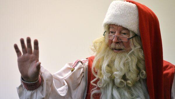 Санта-Клаус, фото из архива - Sputnik Азербайджан