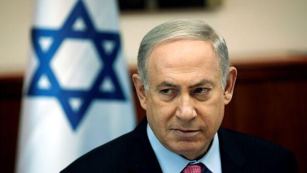 Глава израильского правительства Биньямин Нетаньяху - Sputnik Азербайджан